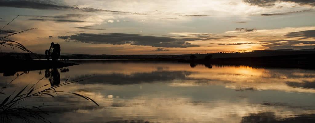 Lago em Boa Esperança